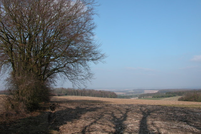 Looking down Temple Valley - geograph.org.uk - 138725