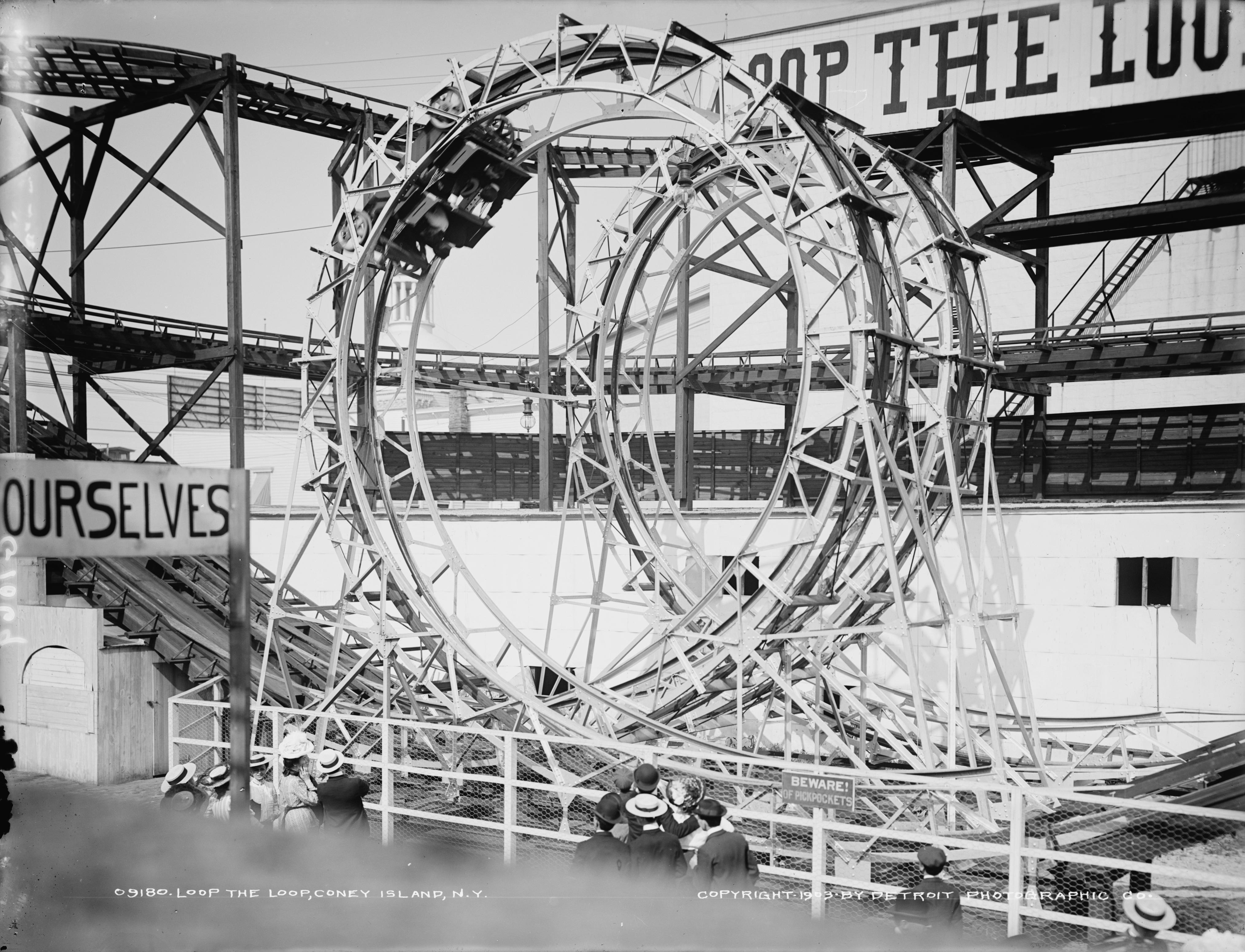 Luna Park Coney Island Winter