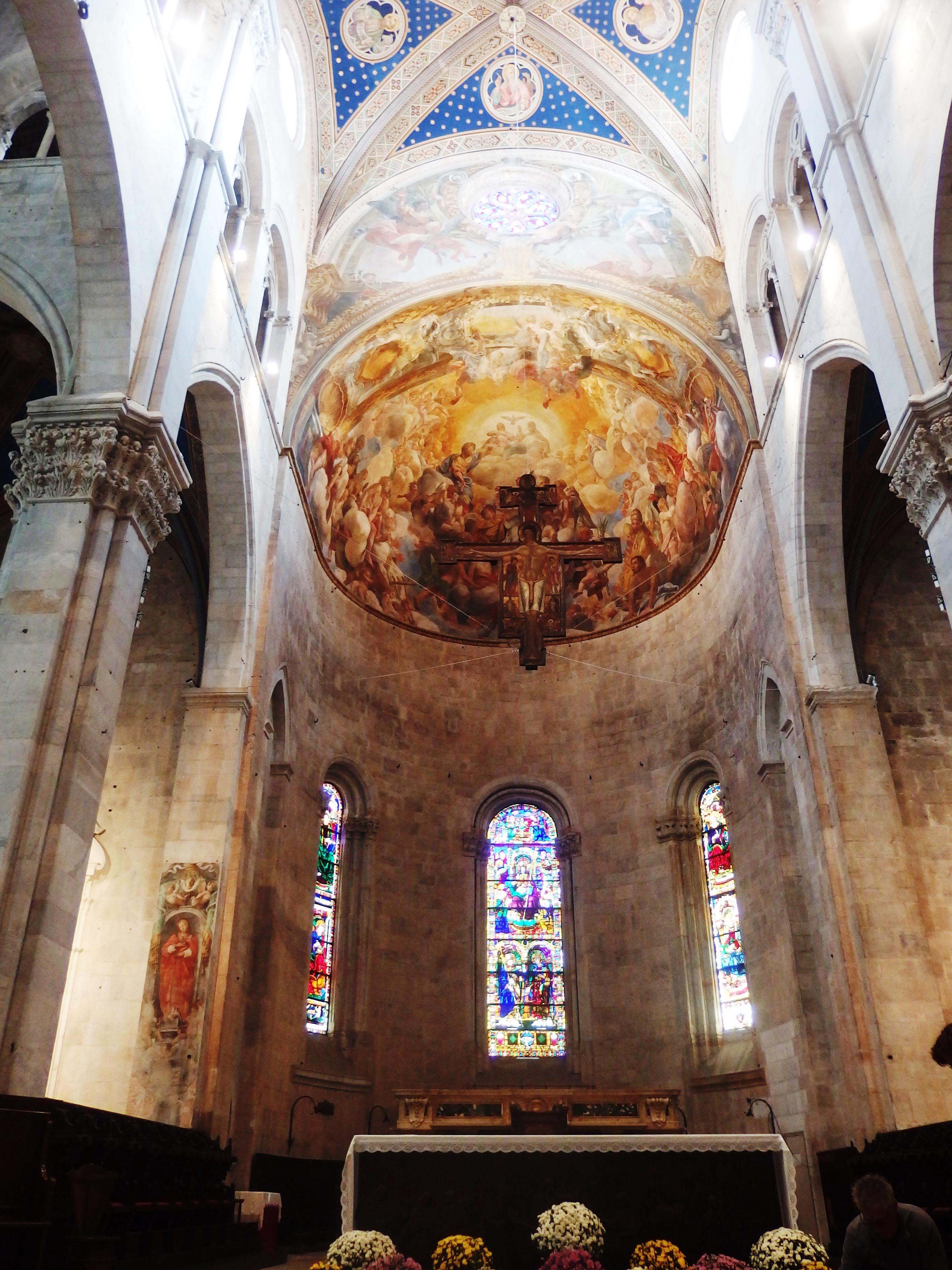File Lucca Cattedrale Di San Martino Interno 5 Jpg Wikimedia Commons