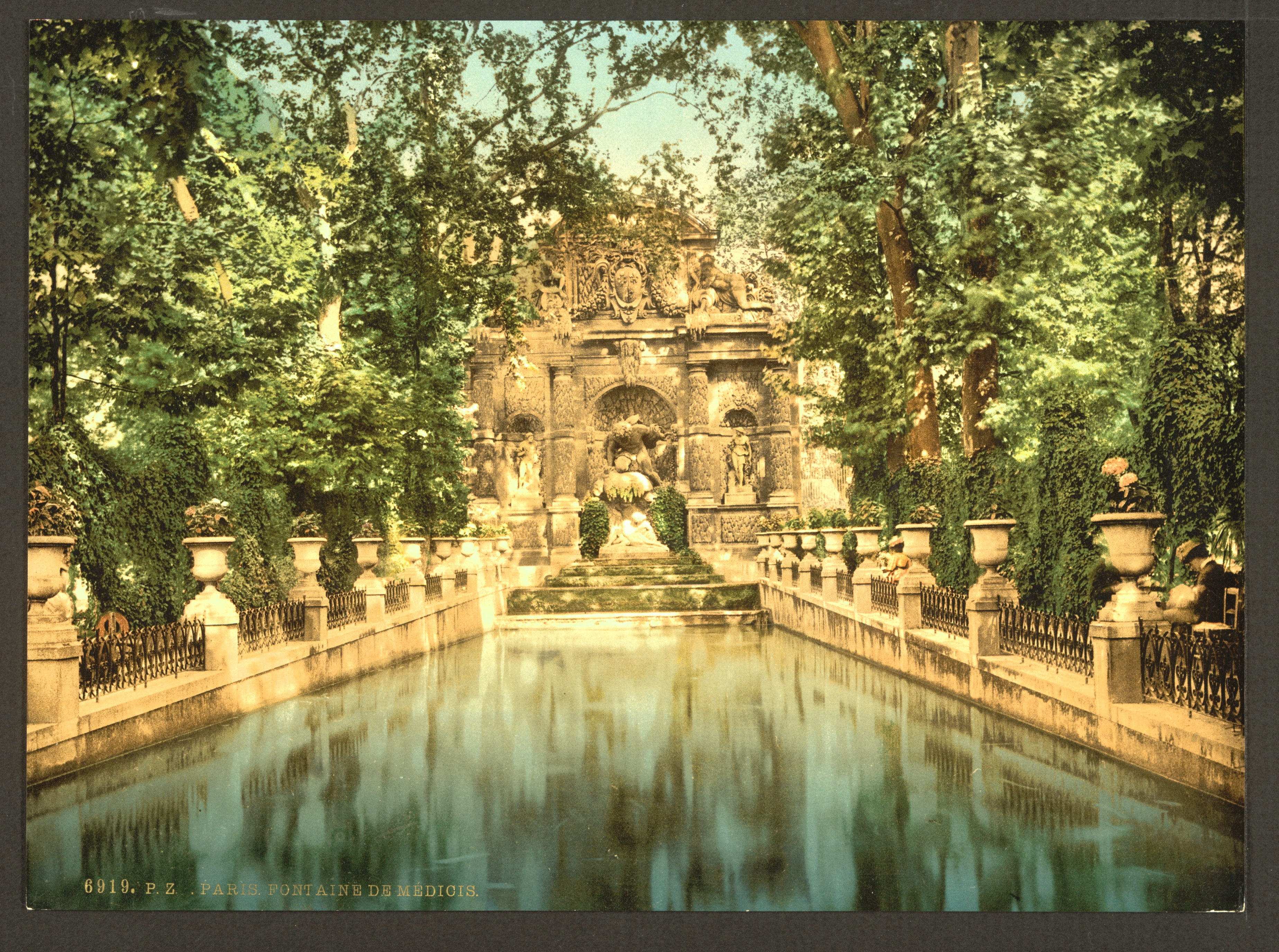 File Luxembourg Gardens The Medici Fountains Paris France