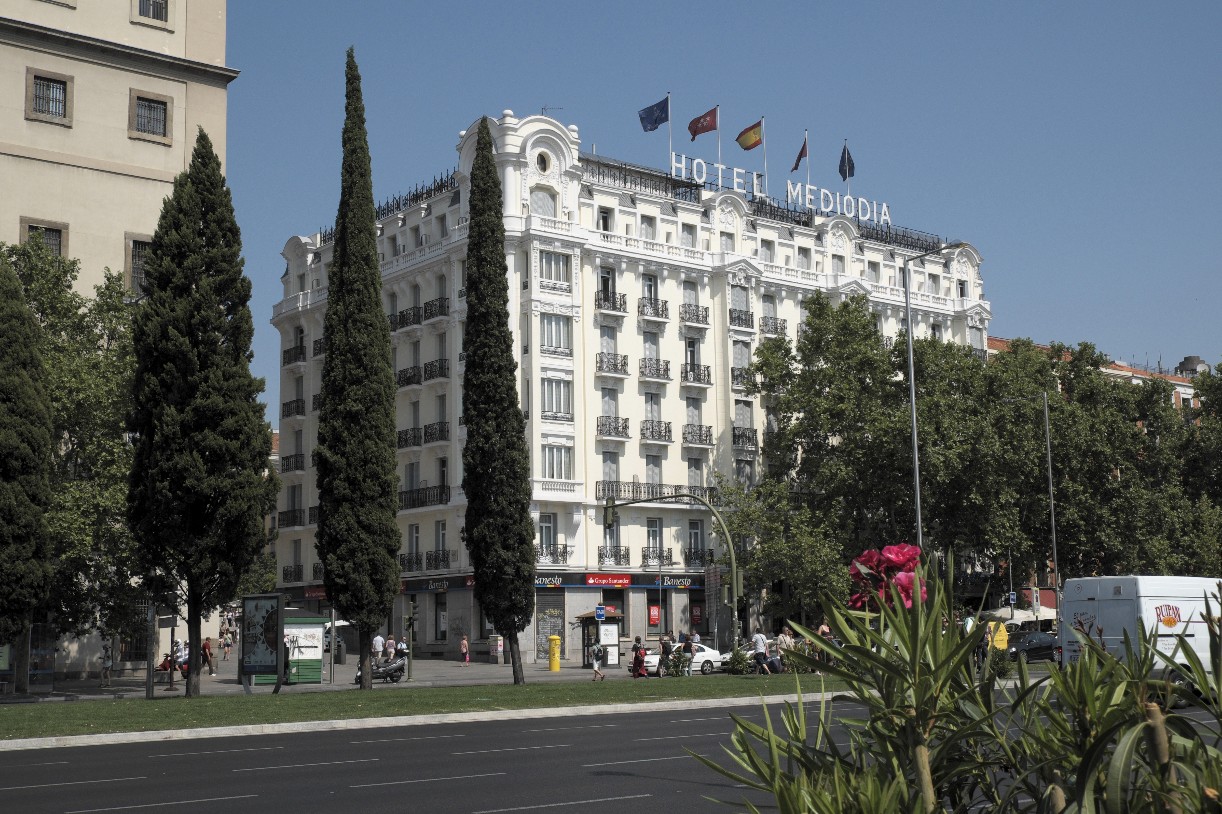 Mediodia Hotel Madrid Hotel Mediodia In Atocha Madrid