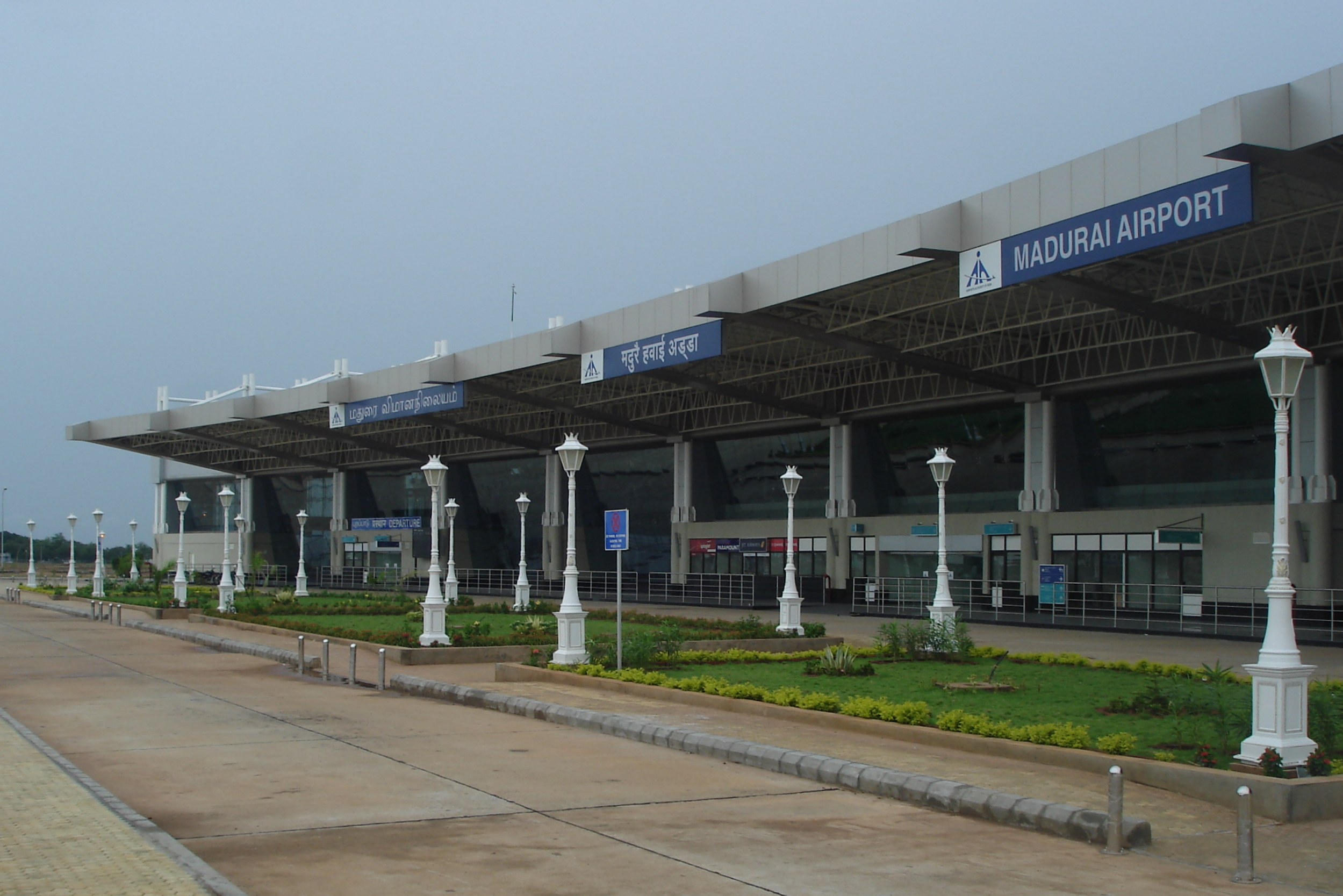 Madurai Airport Location Map Madurai Airport   Wikipedia