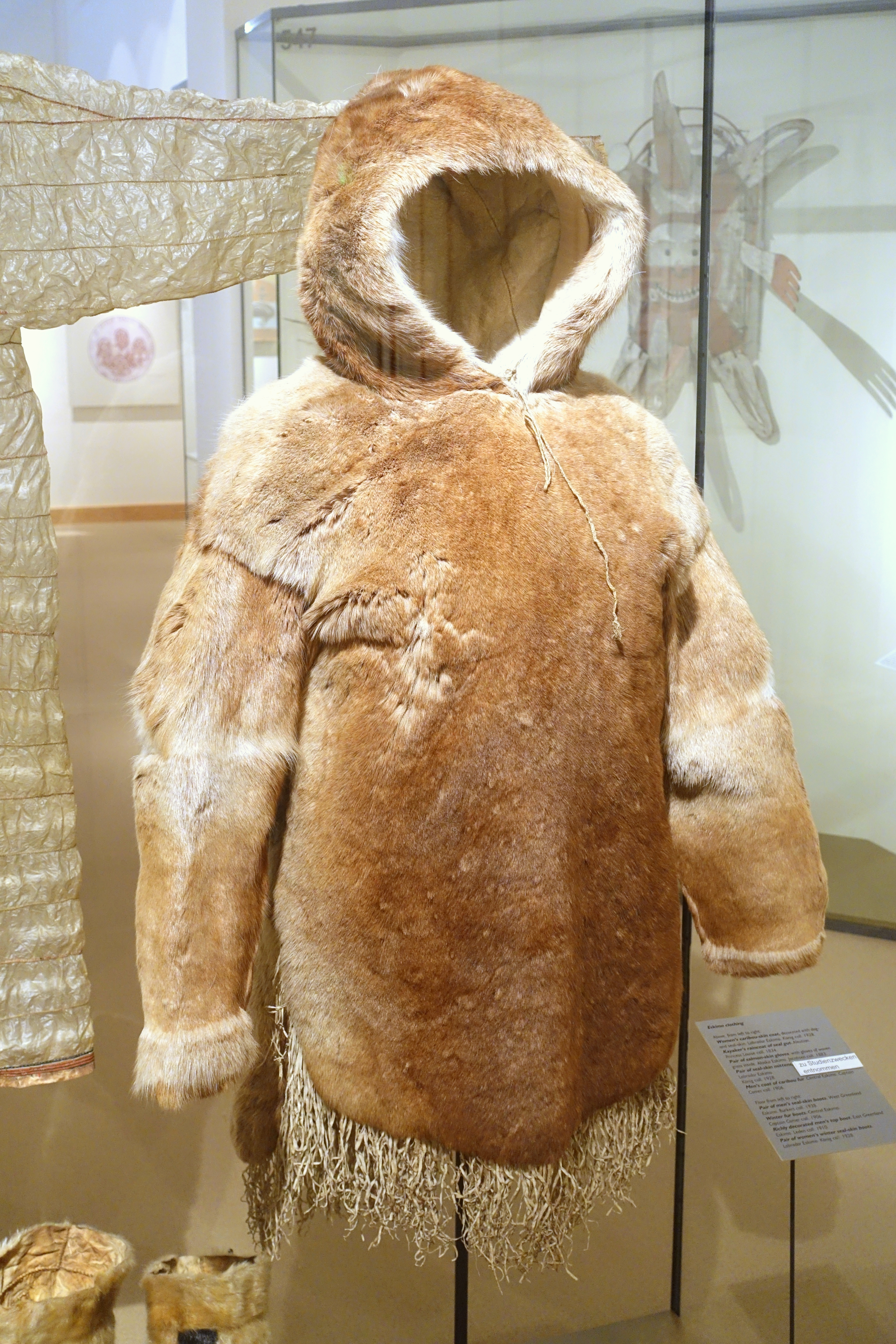 Eskimo Fur Jacket Khaki