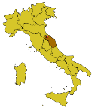 File Map Of Italy With Urbino Dot Png Wikimedia Commons