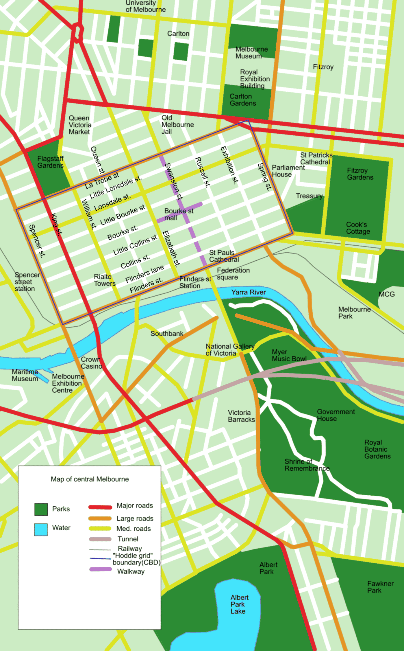 FileMap of central Melbourne 3384553PNG Wikimedia Commons