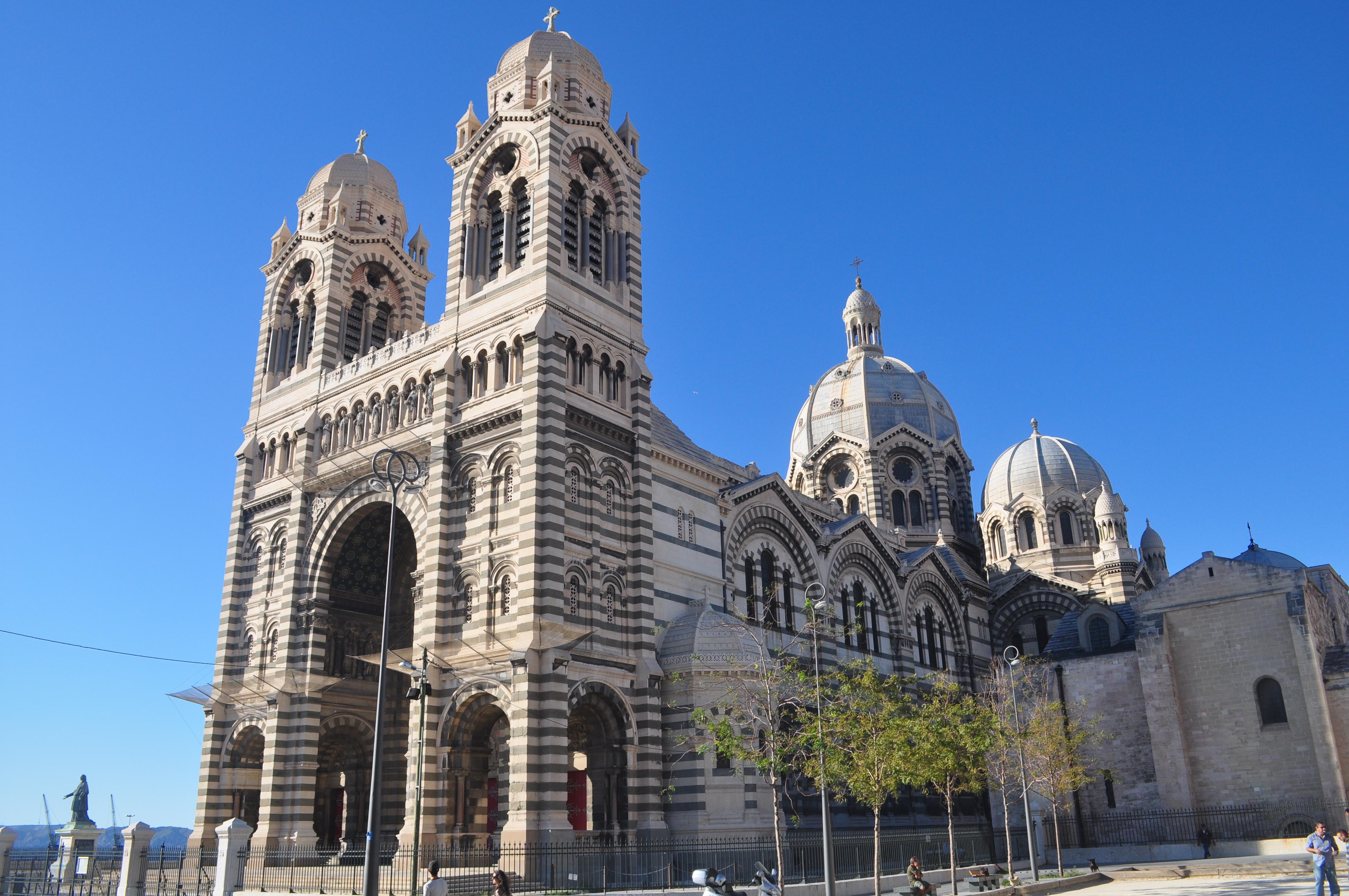 Image illustrative de l'article Cathédrale Sainte-Marie-Majeure de Marseille