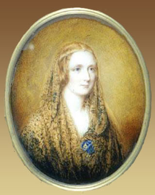 Mary Shelley, 1820