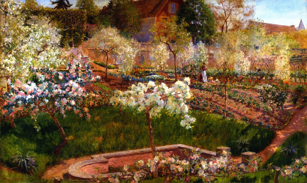 File:Mary Fairchild - Blossoming Time in Normandy.jpg - Wikimedia ...