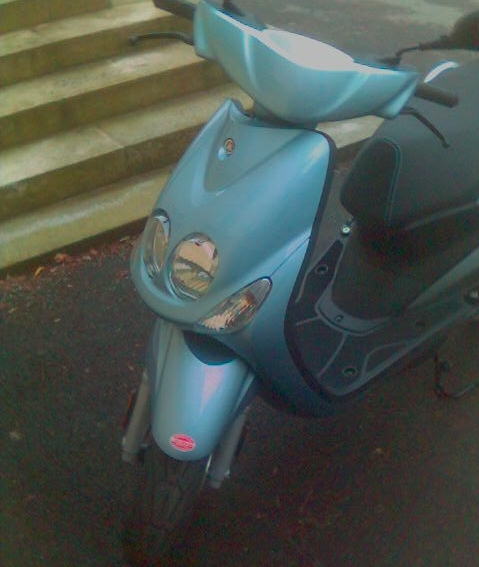 Yamaha Neos Neos_facelift_frontansicht