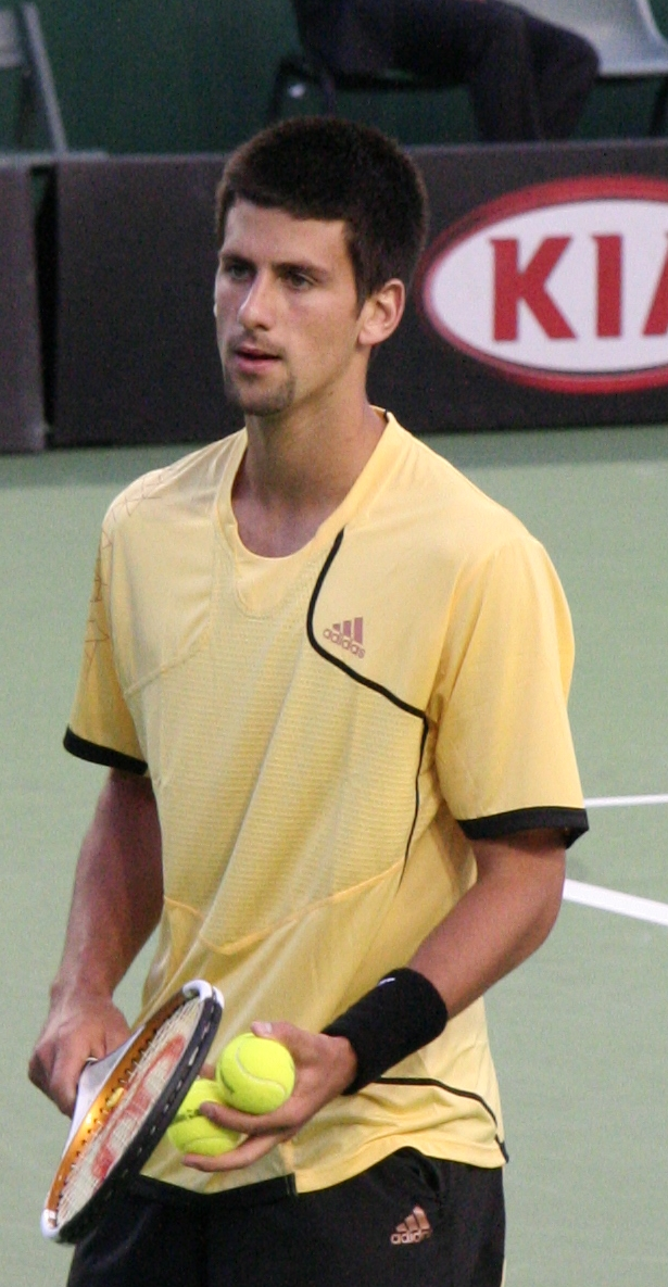 Novak Djokovic Tennis Star