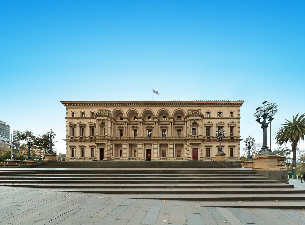 Melbourne S Old Treasury Building