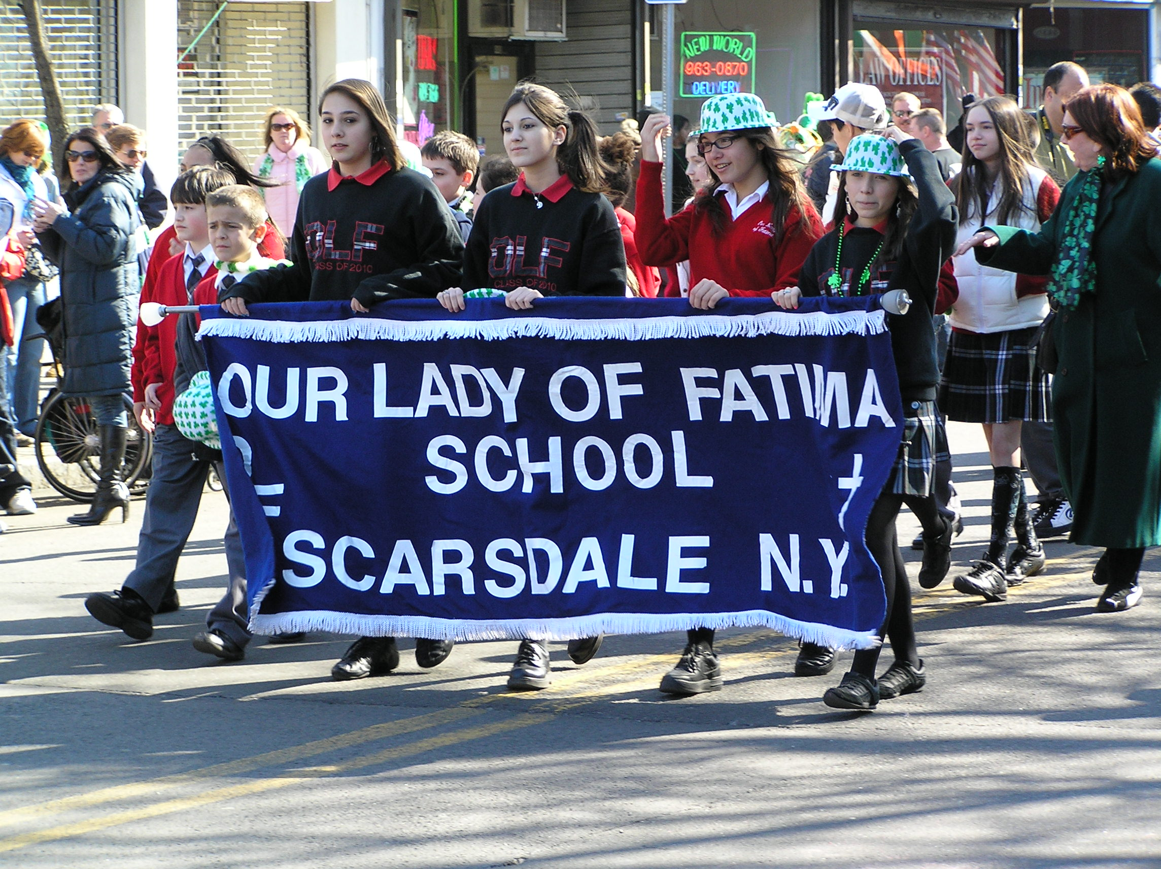 Description Our Lady of Fatima Banner.JPG