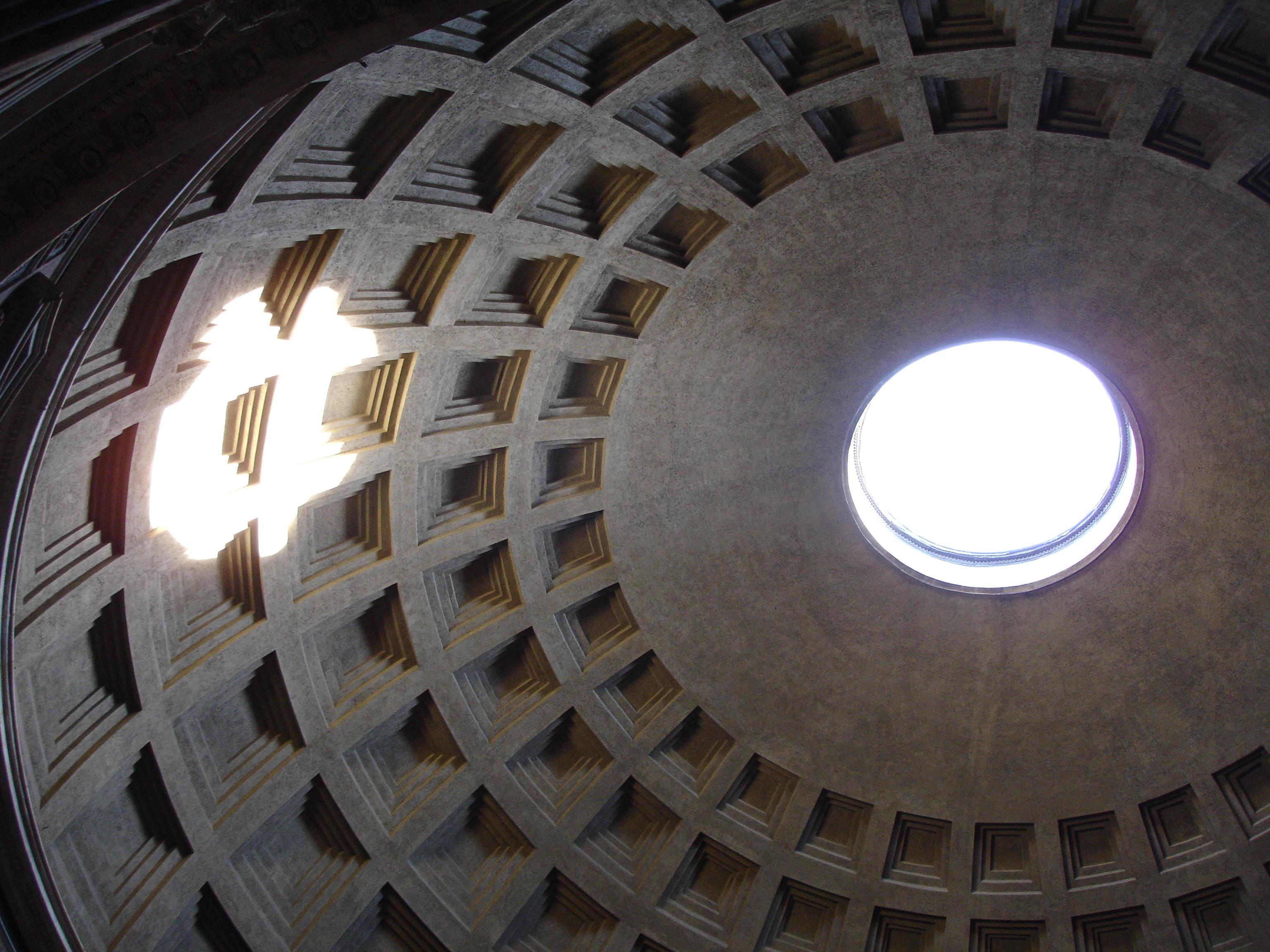 Pantheon dome.