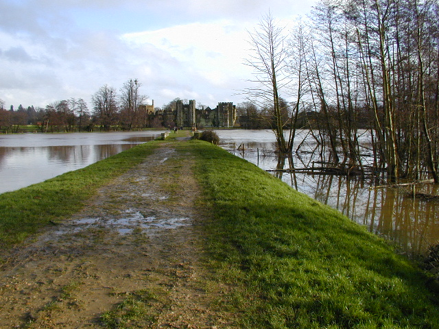 File:Path to Cowdray Castle - geograph.org.uk - 423117.jpg