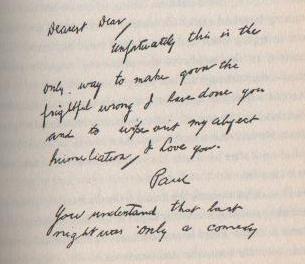 Virginia Woolf Abschiedsbrief
