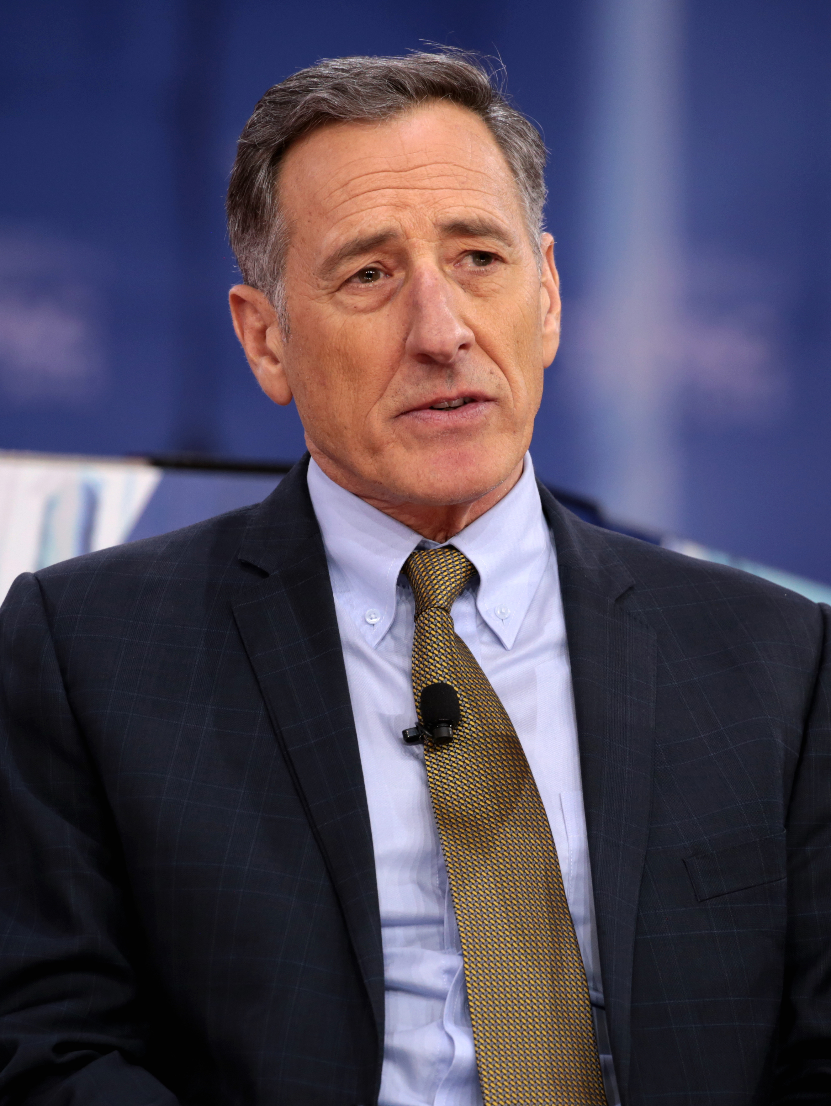 The 62-year old son of father (?) and mother(?) Peter Shumlin in 2018 photo. Peter Shumlin earned a  million dollar salary - leaving the net worth at 10 million in 2018