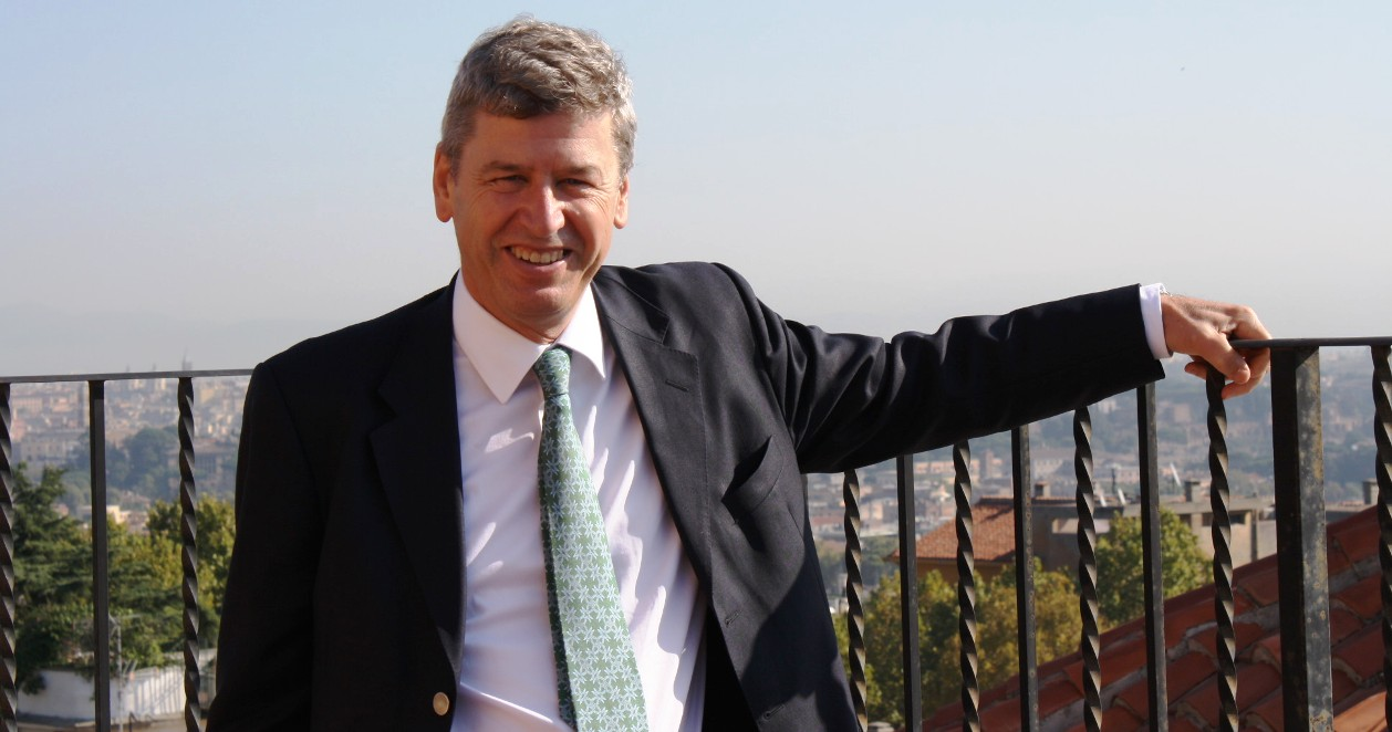 Dr. Richard Hodges, President of The American University of Rome (2012).
