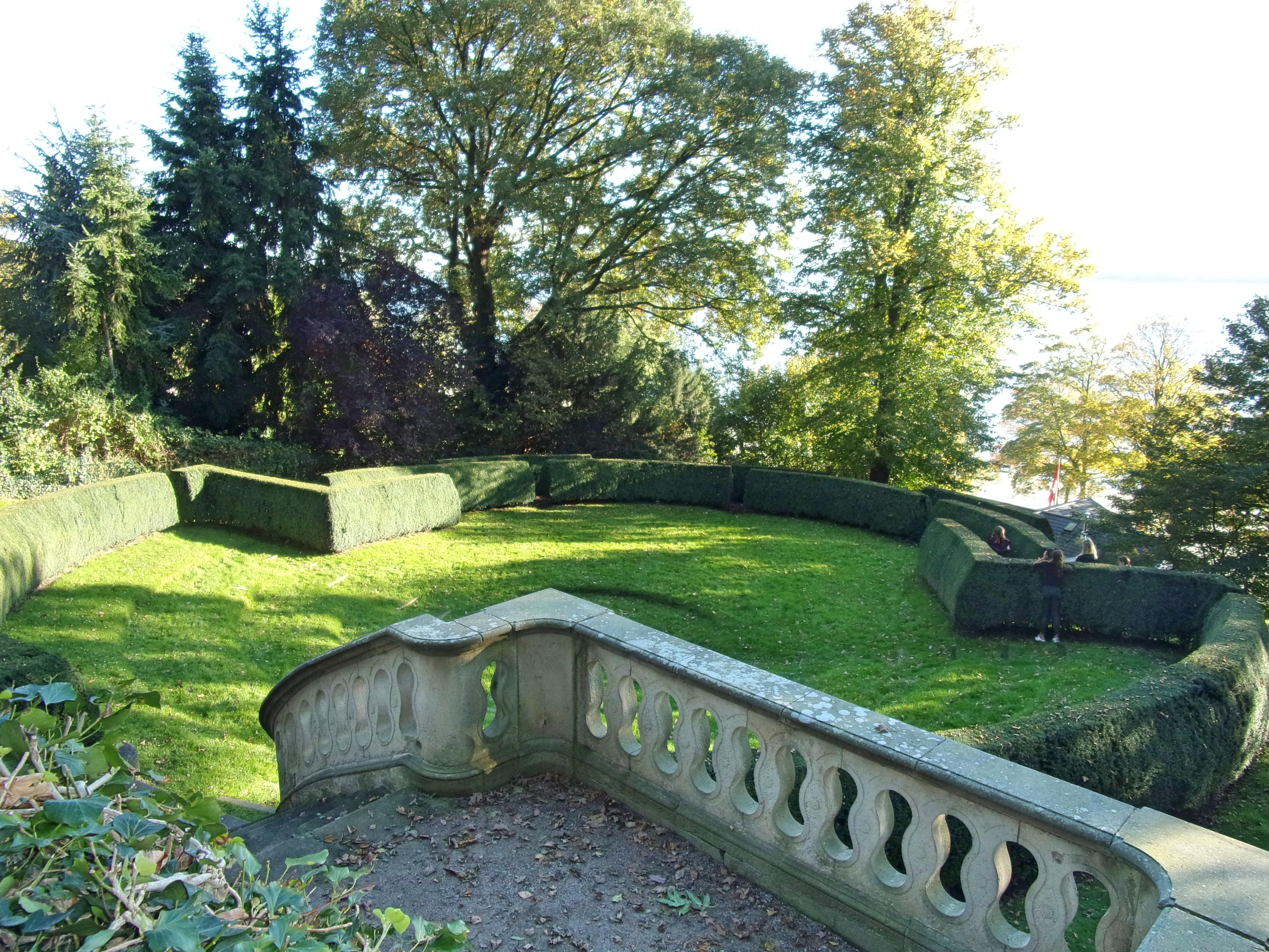 Dateirömischer Garten Neo Barocke Treppe Und Heckentheaterjpg