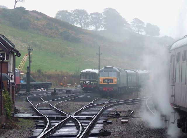 File Railway Sidings At Cheddleton Staffordshire