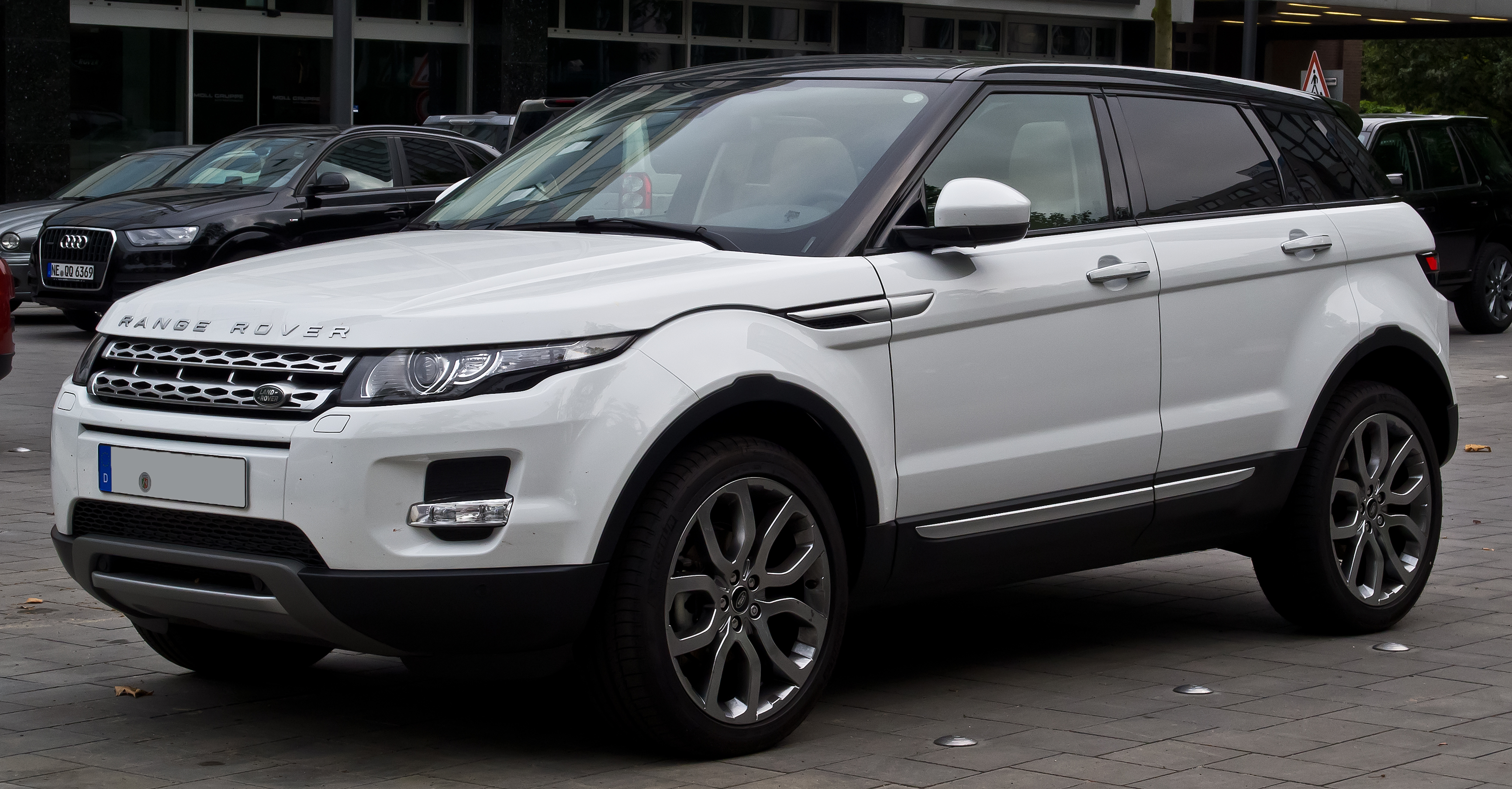 range rover evoque wikipedia the free encyclopedia autos. Black Bedroom Furniture Sets. Home Design Ideas