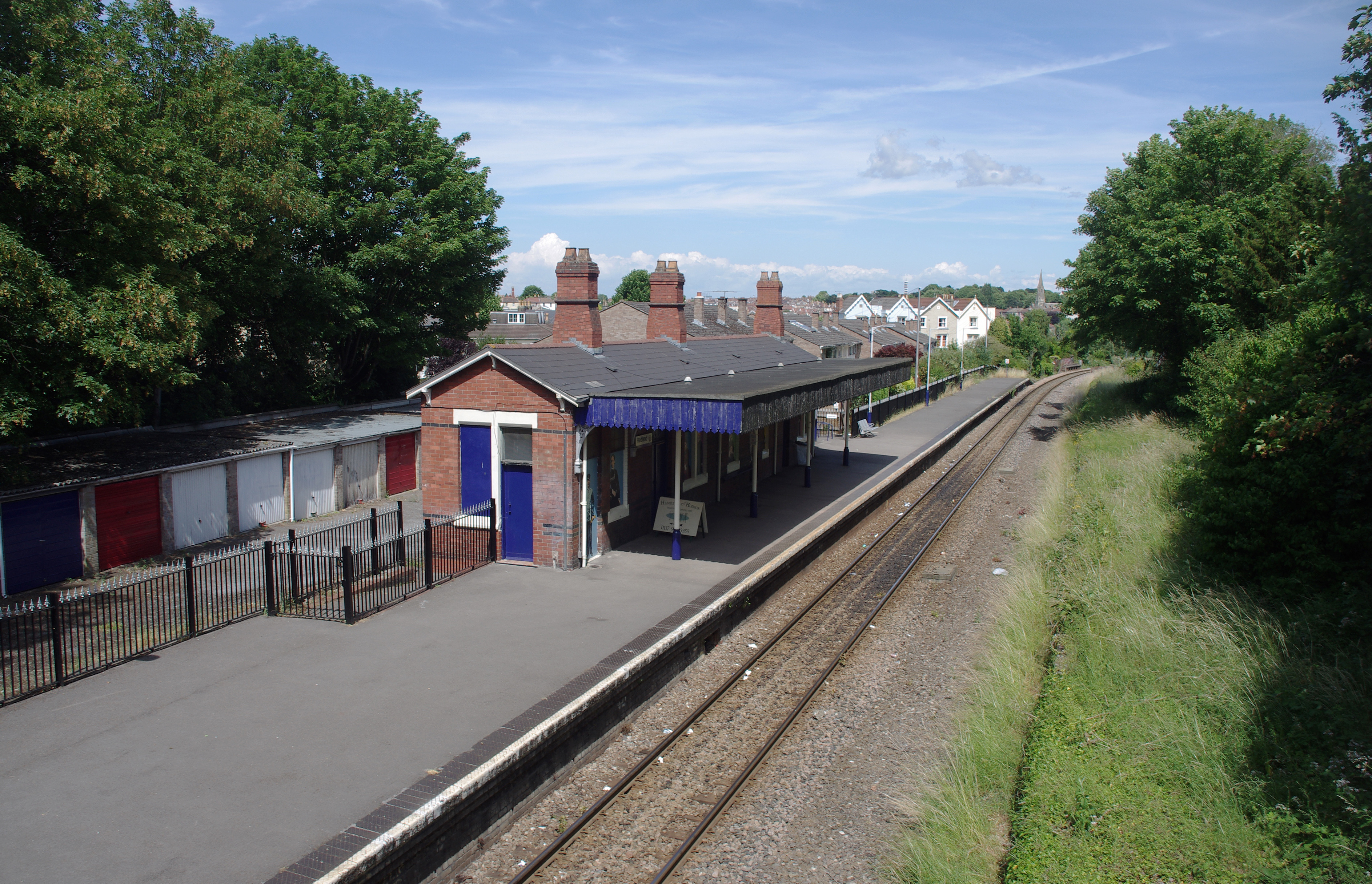 13 Clevedon Railway Station Photo Yatton Line Great Western Railway.