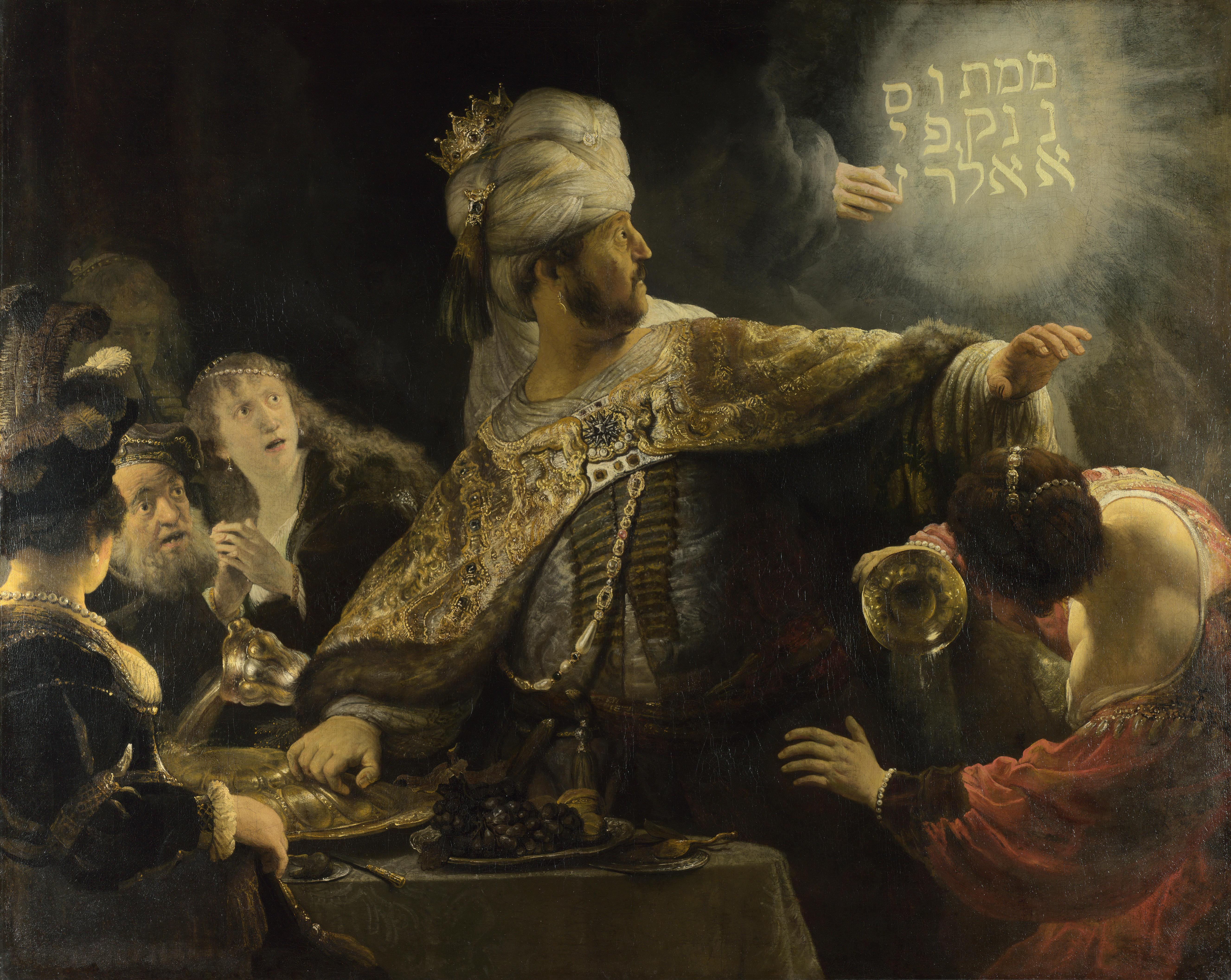 http://upload.wikimedia.org/wikipedia/commons/0/0e/Rembrandt-Belsazar.jpg