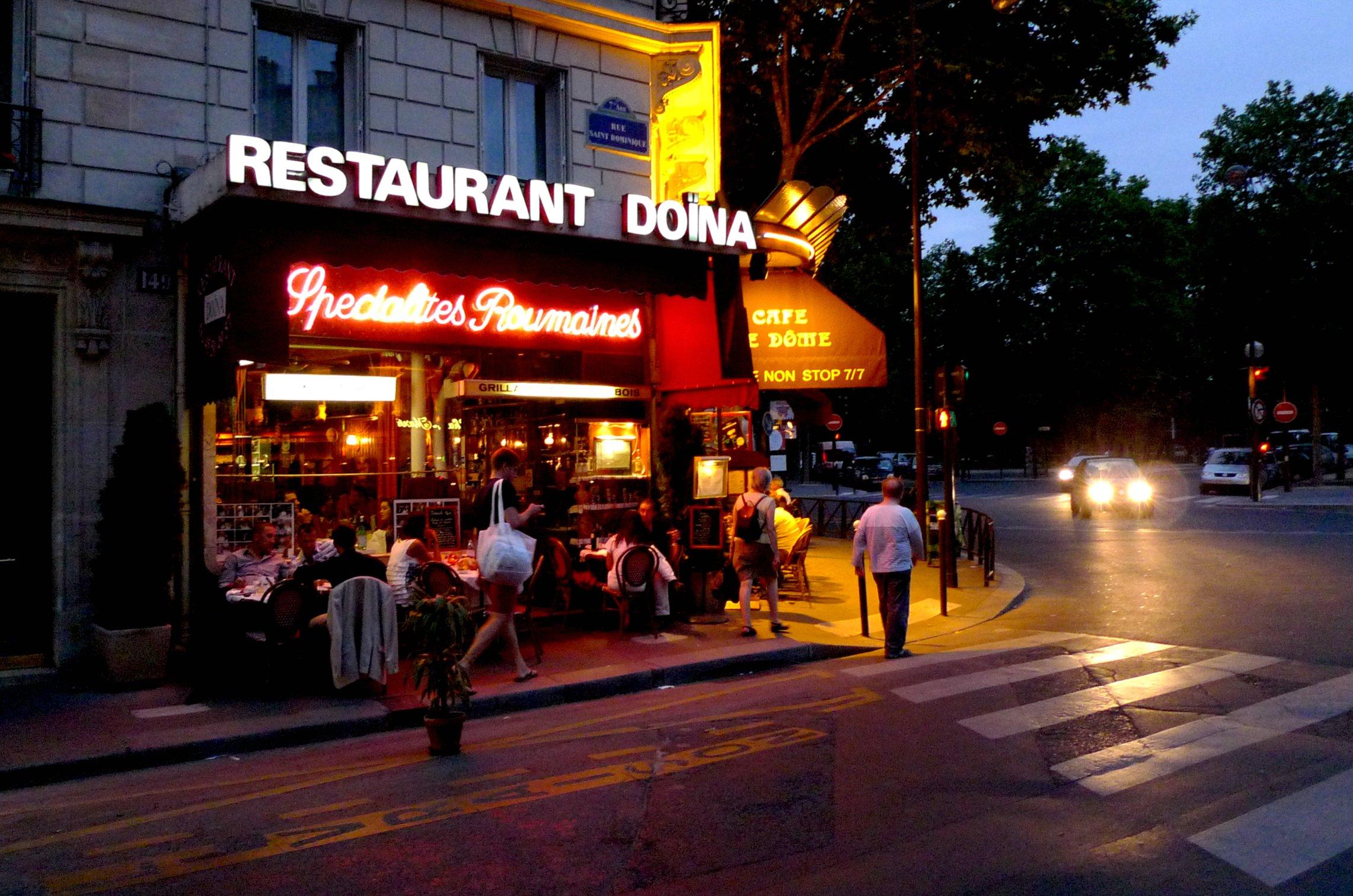 Restaurant Rue De Monttessuy Paris