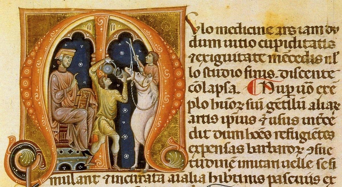 Rinaldo da Siena. Miniature dellaMulomedicinadiVegezio, 1275 circa,Firenze,Biblioteca Medicea Laurenziana