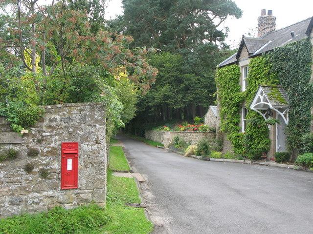 Road through Beltingham, Northumberland - Geograph-2026957