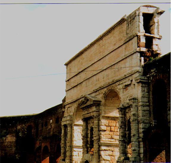File rome porta wikimedia commons - Rome porta maggiore ...