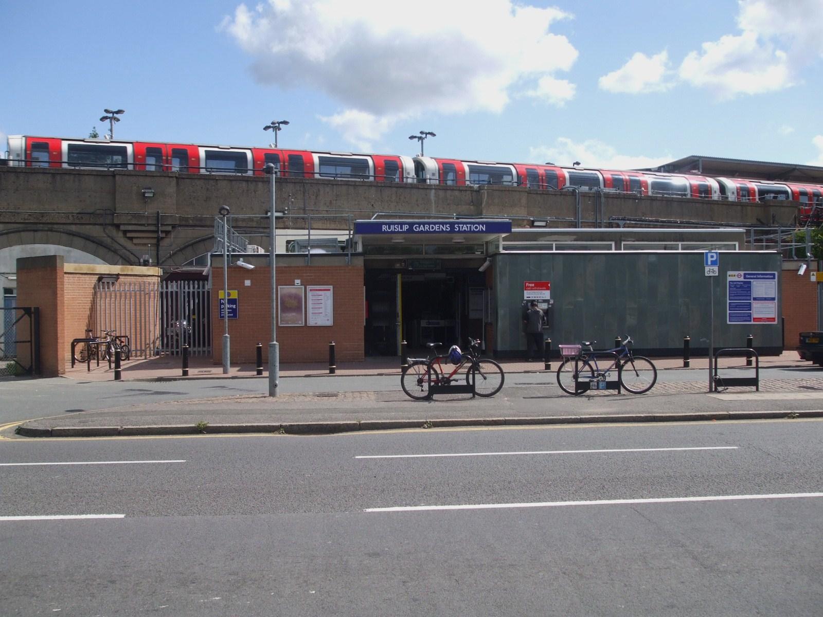 ایستگاه متروی رایسلیپ گاردنز
