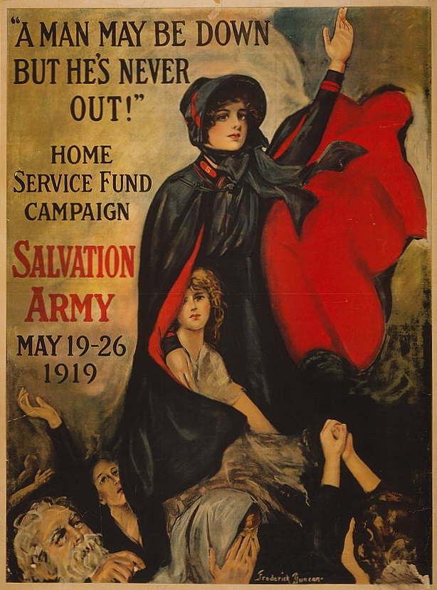 the war of the worlds poster. File:Salvation Army World War