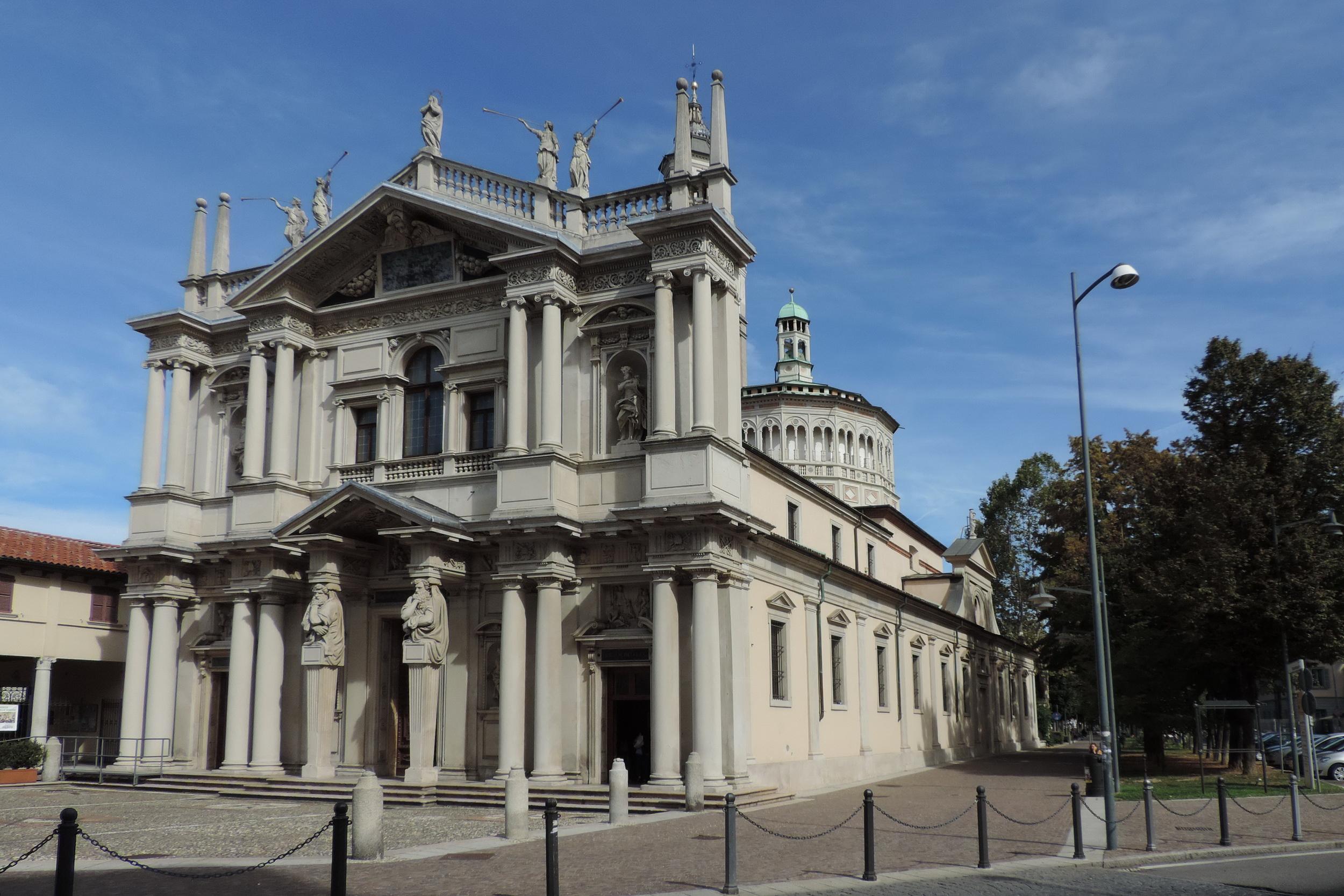 Saronno Italy  city photos : Description Saronno, Santuario della Beata Vergine dei Miracoli 01