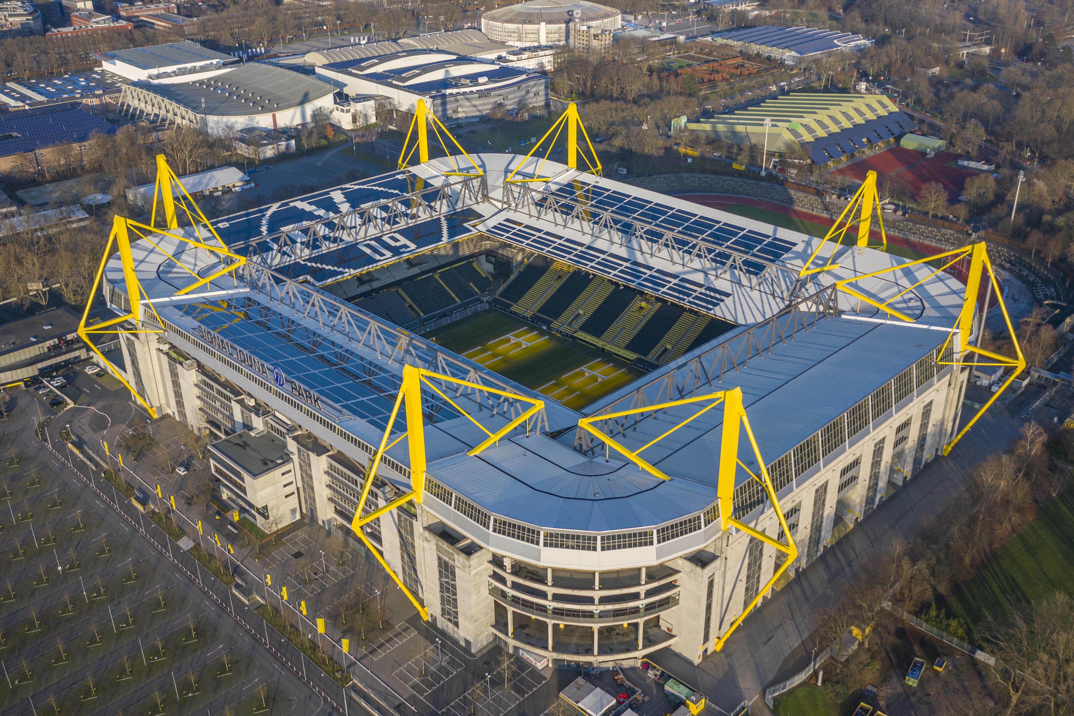 Sitzplätze bvb stadion Signal Iduna