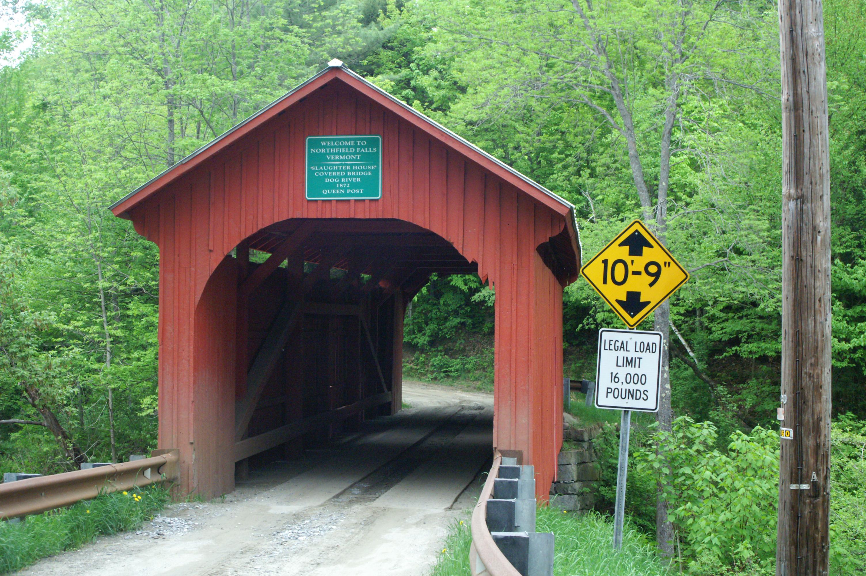 Slaughter House Covered Bridge