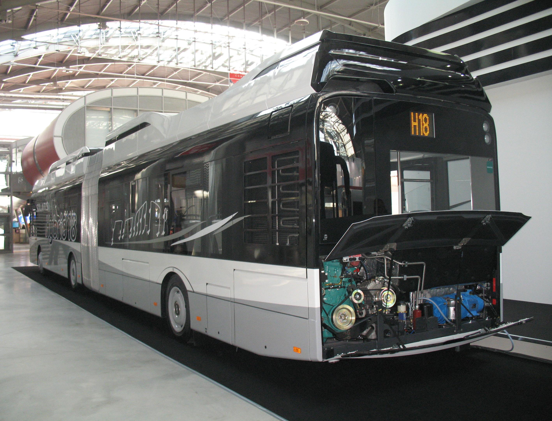 2301 sb20 Recklinghausen VK Solaris Urbino 18 Hybrid Vestische tranvía-WG