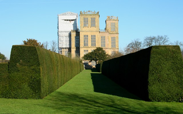 South aspect of Hardwick Hall - geograph.org.uk - 803548