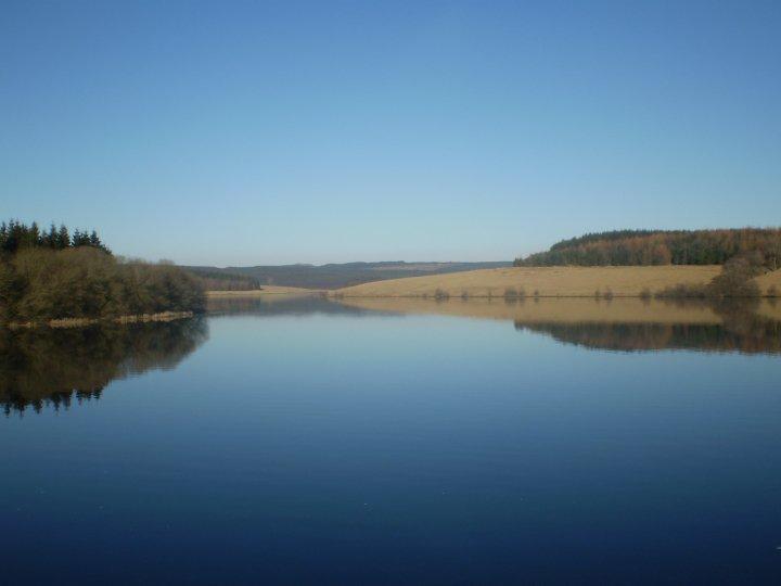 Stocks Reservoir in Lancashire, England.