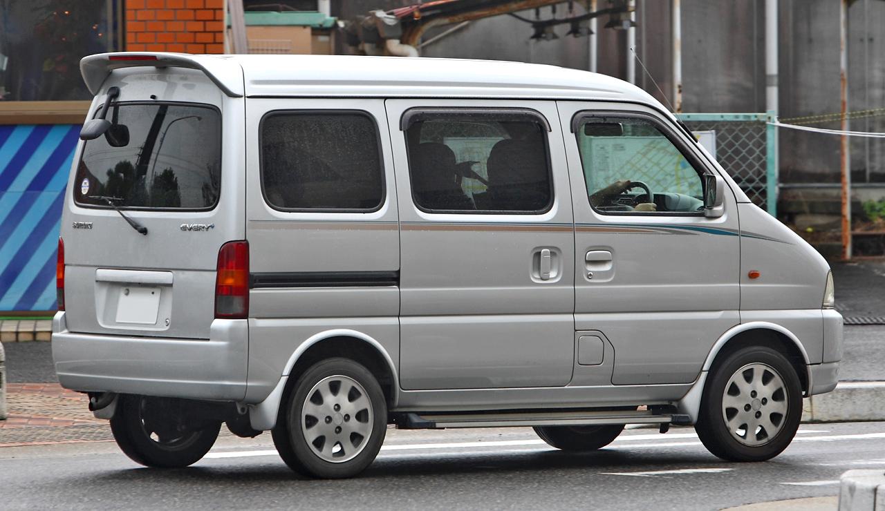 file suzuki every 004 jpg wikimedia commons rh commons wikimedia org Suzuki Van Suzuki Every Landy Parts