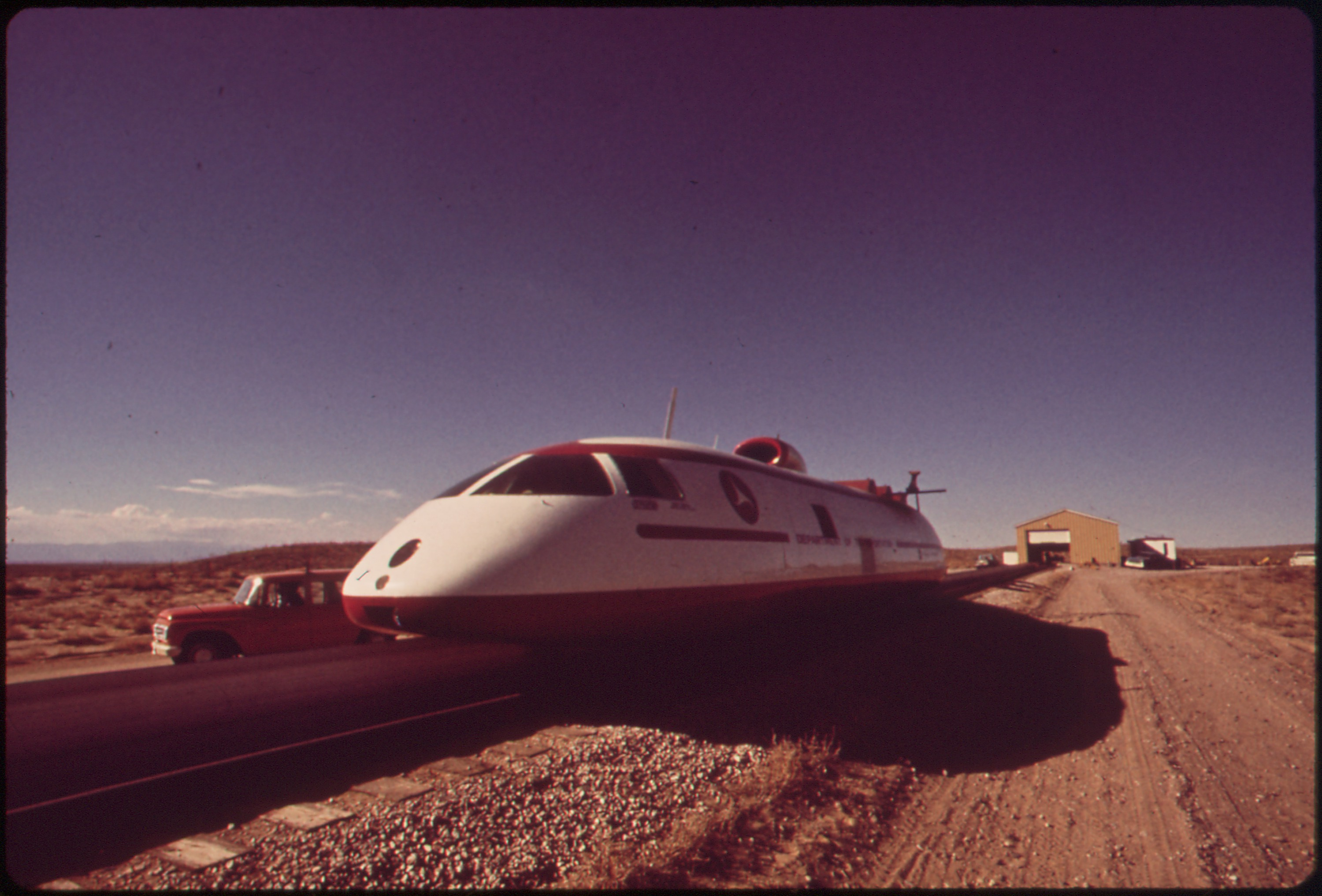 File Tracked Air Cushion Research Vehicle At The