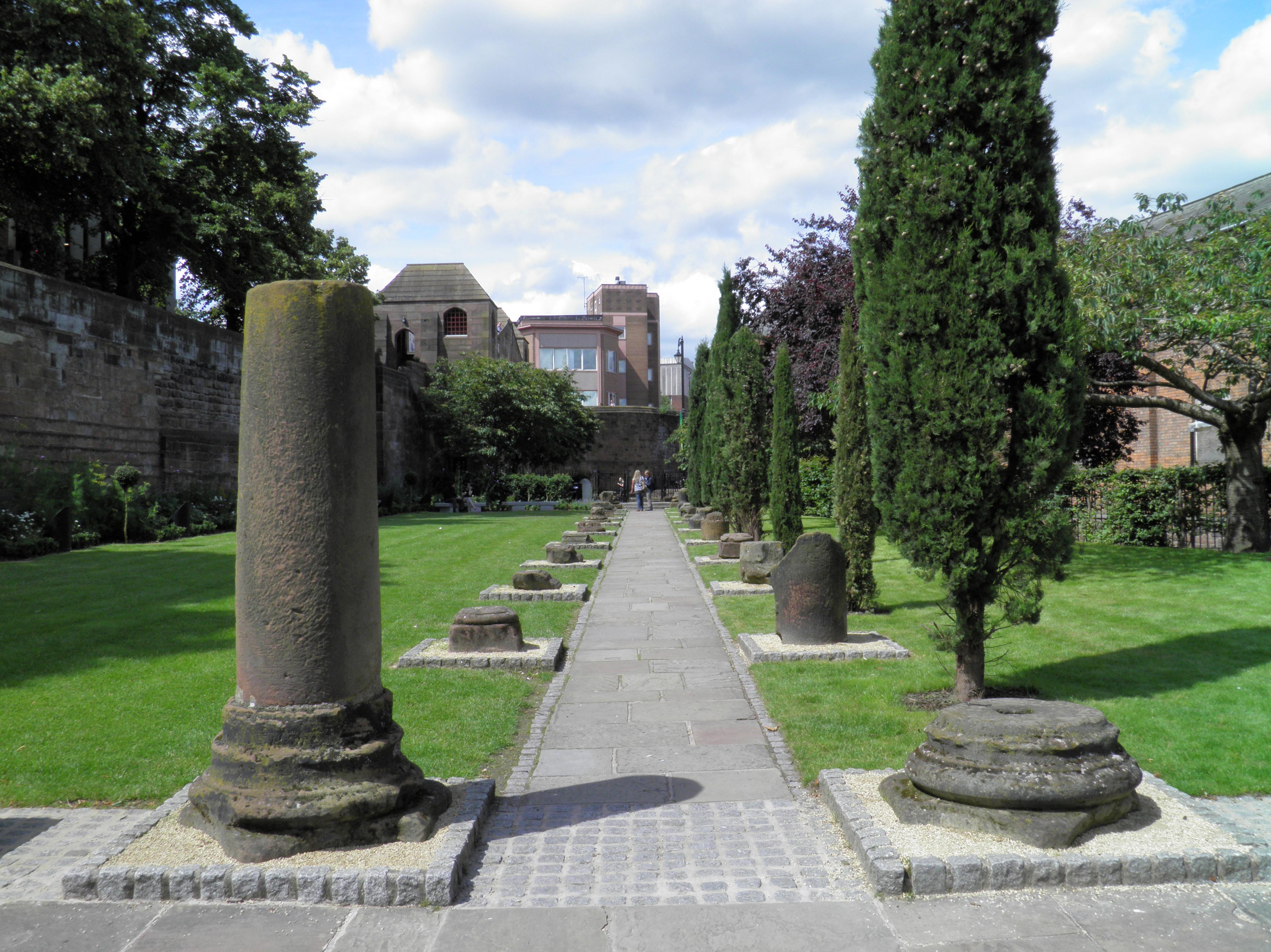 File The Roman Garden Deva Victrix Chester Uk