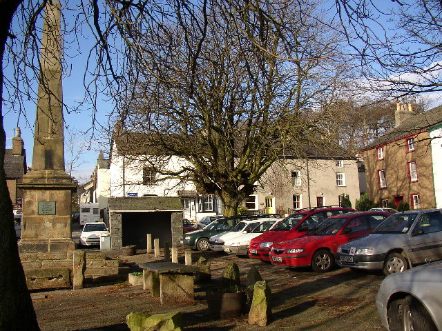 The Square, Broughton-in-Furness - geograph.org.uk - 51180