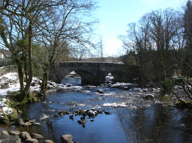 The bridge - geograph.org.uk - 743924