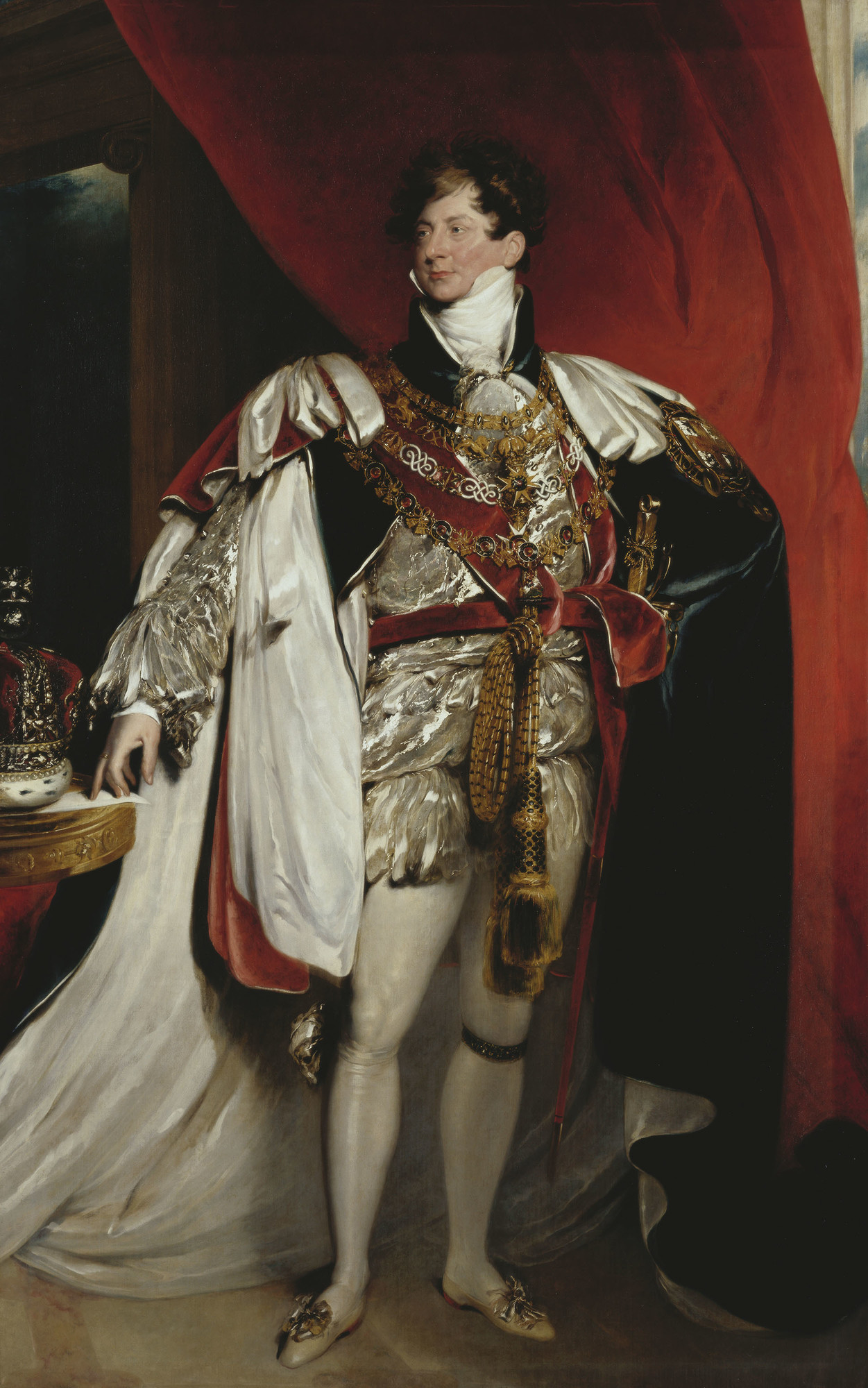 The Prince Regent, later King George IV