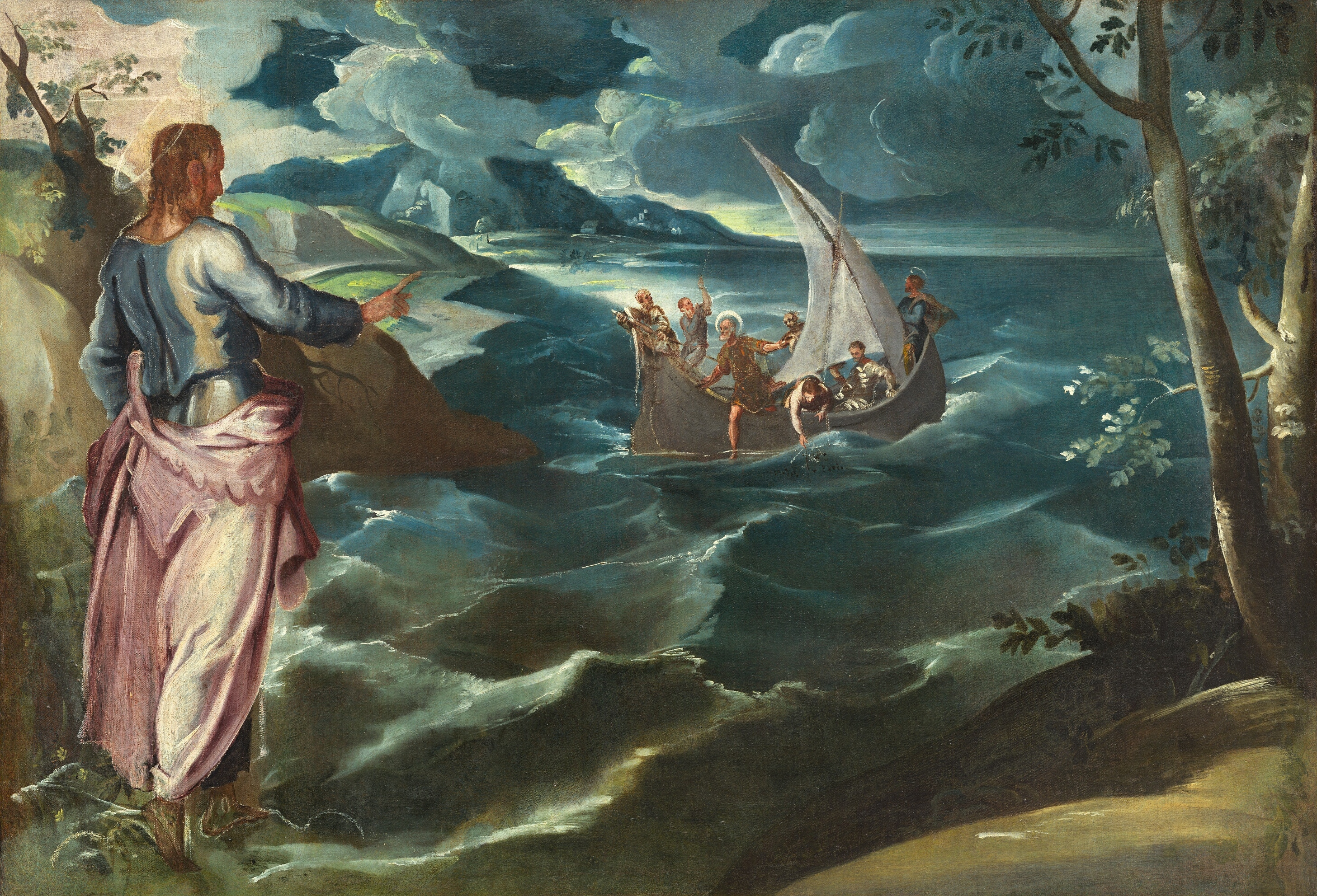 Jesus Walking On Water Tattoo File:Tintoretto, Jacop...