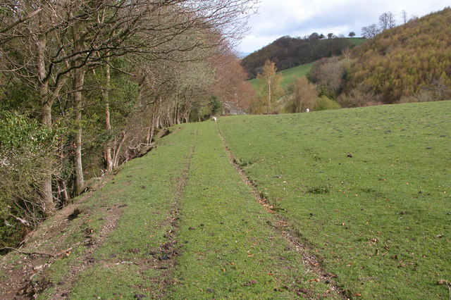 Track from Kerry to the Kerry Ridgeway - geograph.org.uk - 163468