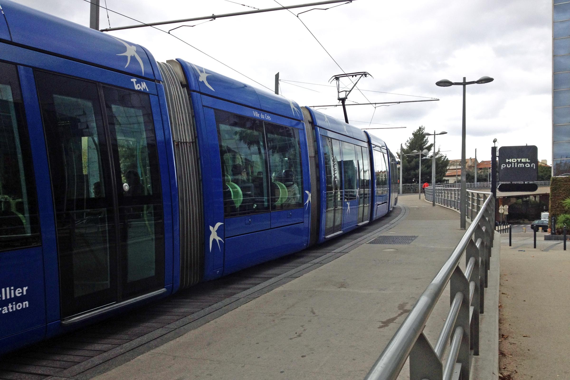 Montpellier Tram Line File:tram Montpellier 11 2013
