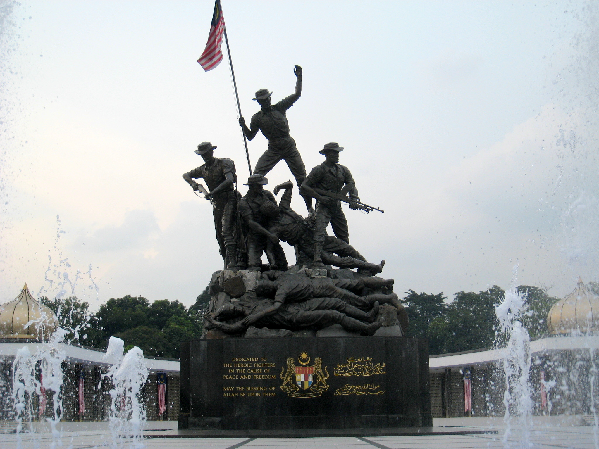 tugu negara Here's our aerial video of the tugu negara, like you've never seen before in  honor of those who sacrificed their lives for our freedom enjoy aerial video of  tugu.