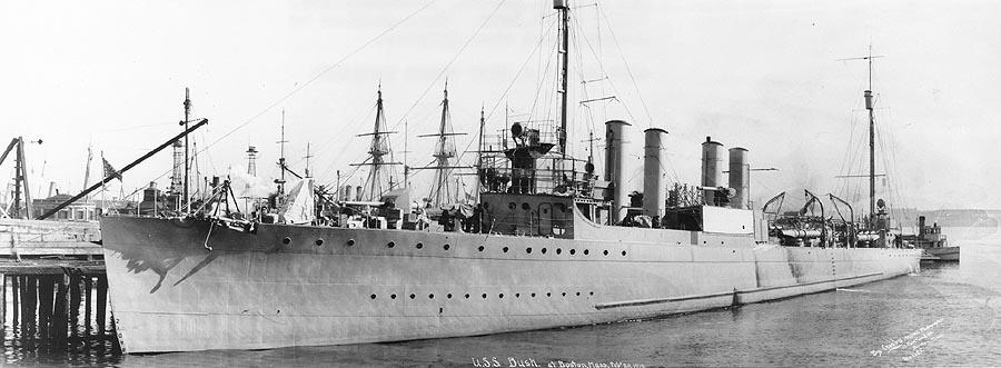 USS Bush (DD-166)