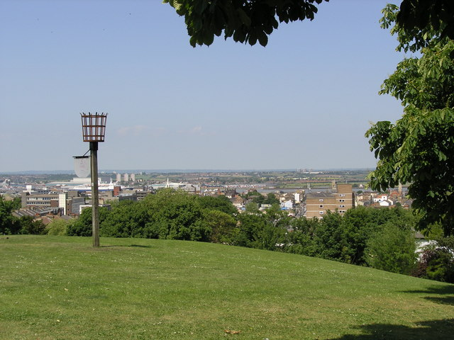 View from Windmill Hill, Gravesend - geograph.org.uk - 1319868